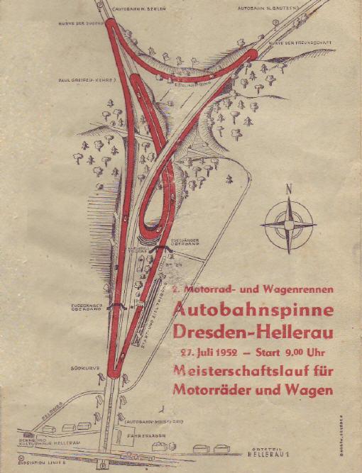 Autobahnspinne Dresden