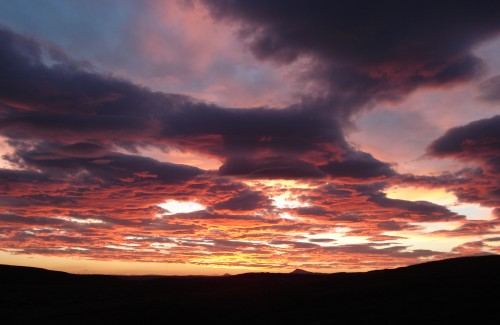 Sonnenaufgang in Schottland