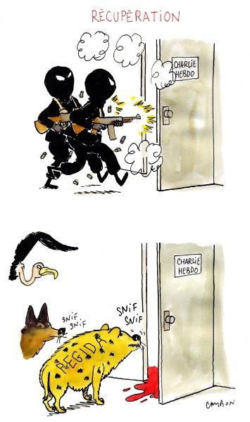 Anti-Pegida-Karikatur